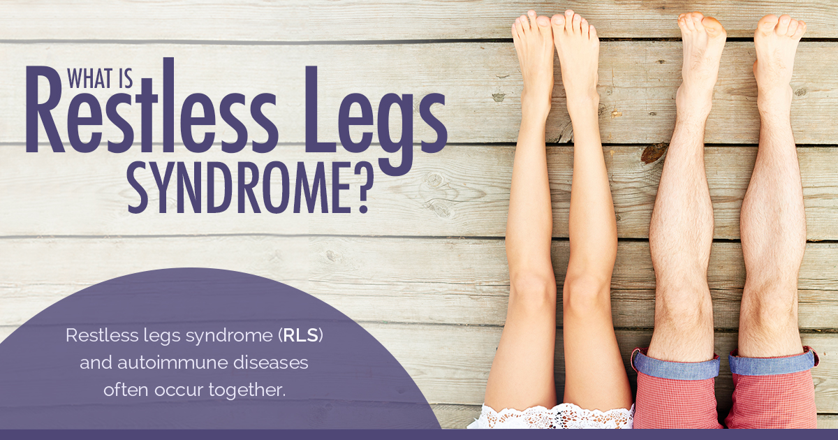 Psoriasis and Restless Legs Syndrome: New Life Outlook Psoriasis Infographic